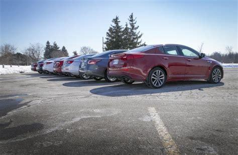 Comparison Test 2014 Midsize Sedans Autosca