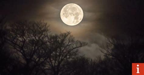 february  full moon tonight lunar