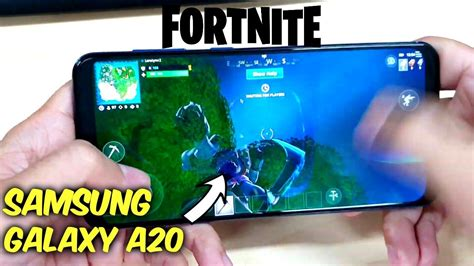 samsung galaxy  fortnite mobile gameplay graphics