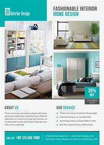 Interior design flyer by themedevisers graphicriver for Interior design flyer