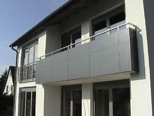 Sichtschutz Für Balkongeländer : schlosserei schleip balkongel nder bk40 ~ Markanthonyermac.com Haus und Dekorationen
