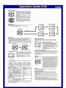 Manual Casio Men U0026 39 S G