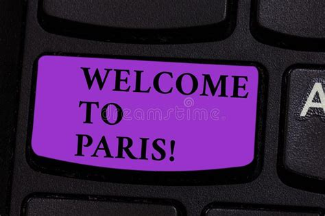 Welcome To Paris Stock Photos - Download 290 Royalty Free ...