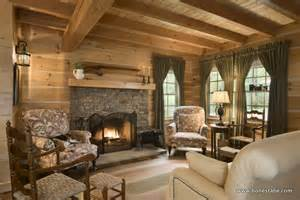 log cabin home interiors custom honest abe log cabin captures spirit of pioneers