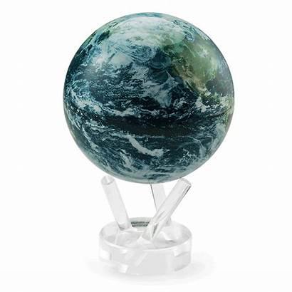 Globe Earth Spinning Mova Cloud Solar Satellite