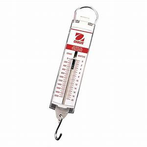 Ohaus Pull Type Hanging Spring Scales 5000 G X 100 G 50n X