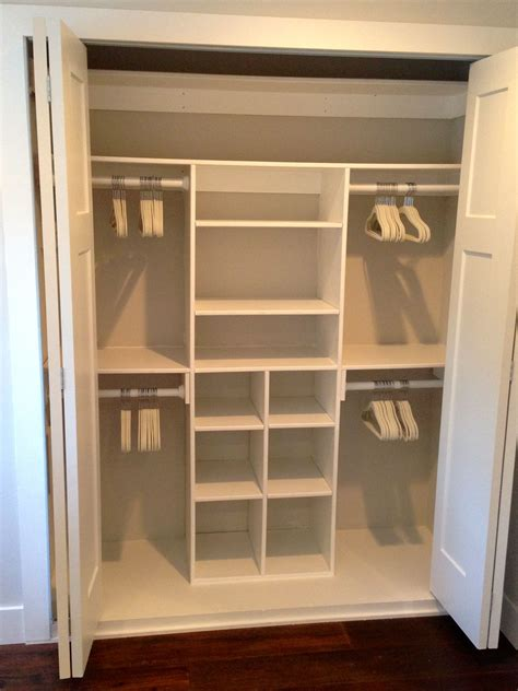 Diy Walk In Closet Organization Ideas by Just My Size Closet Do It Yourself Home Projects From