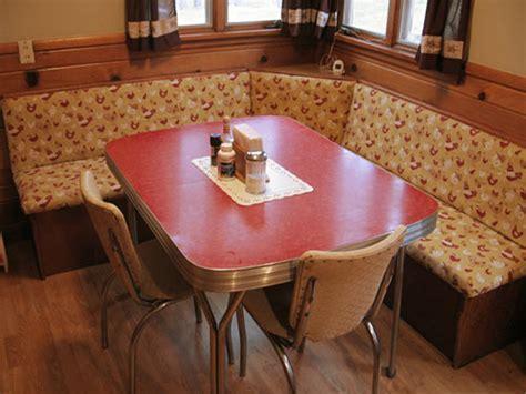 23 red dinette sets   vintage kitchen treasures   Retro