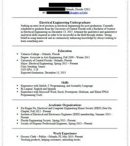 Gpa On Resume Engineering by Resume In Engineering Engineers Program Graduated