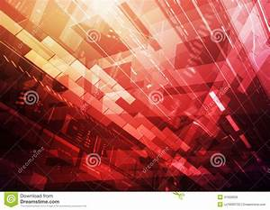 Information Technology Red Stock Illustration - Image ...