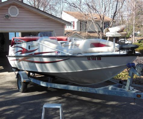 Lowe Deck Boats For Sale Used by 2008 Lowe 190 Tahiti Deck Boat For Sale In Lake Of The