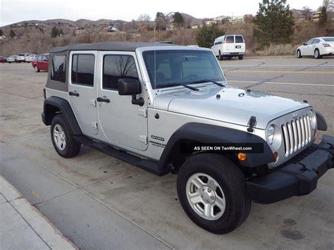 jeep wrangler 4 door silver 2012 jeep wrangler silver