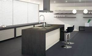 Plan De Travail Ilot : mobilier table plan de travail ilot cuisine ~ Premium-room.com Idées de Décoration