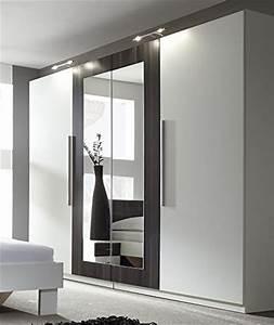 Kleiderschrank 4 Türig Günstig : kleiderschrank mit spiegel g nstig ~ Bigdaddyawards.com Haus und Dekorationen