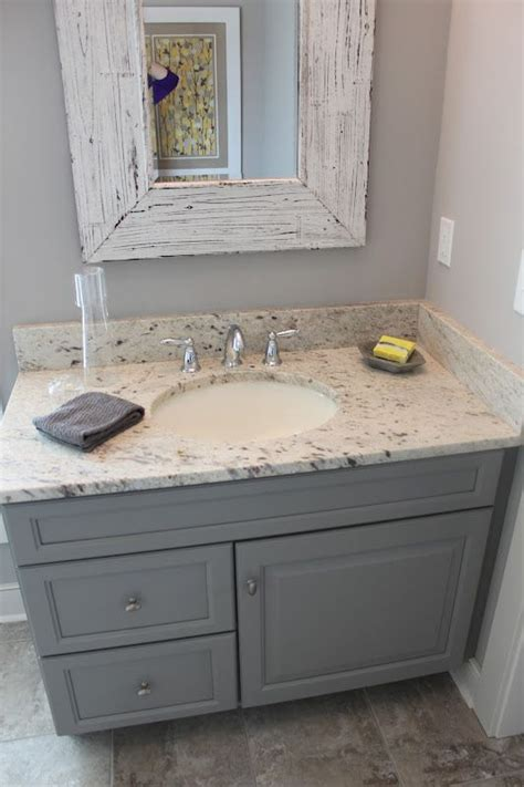 gray distressed kitchen cabinets color for bottom cabinets with white on top 3918