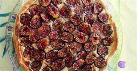 recette tarte aux figues  creme damande