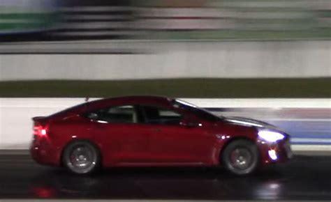 Tesla Model S Beats Acura Nsx, Nissan Gt-r Down The