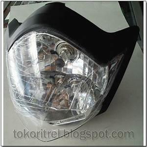 Tokoritrel Blogspot Com  Lampu Depan Assy Vixion New Ff00070