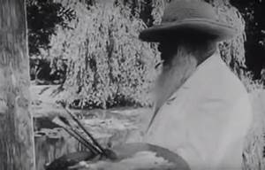 Video collections colossal for 100 year old footage of legendary artists monet renoir rodin and degas working and walking near their studios