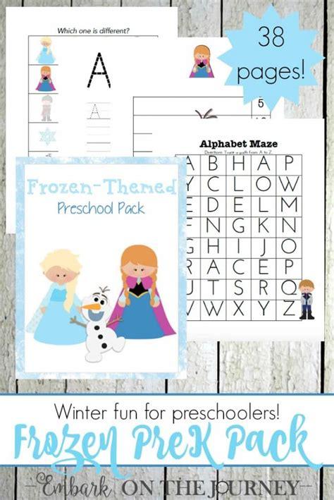 frozen printables  preschoolers  pages