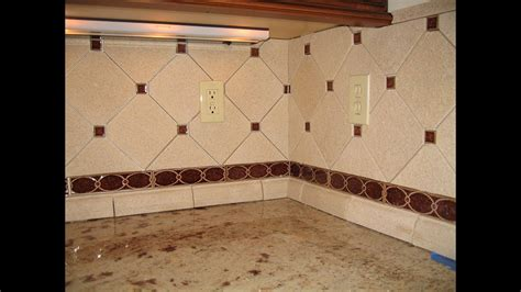 custom sonoma tile kitchen backsplash youtube