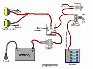 Schema Electrique Phare Additionnel