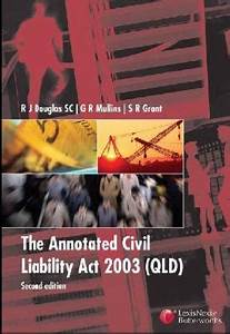 The Annotated Civil Liability Act 2003 (Qld) (豆瓣)