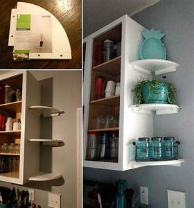 20, Genius, Ideas, For, Using, Wasted, Space, On, Kitchen, Ends, Of, Cabinet