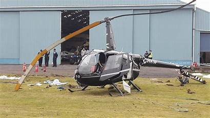 Helicopter Crash Perth Crashed Airport Witness Leg
