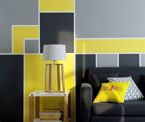 cuisine jaune et gris 25 best ideas about jaune peintures murales on