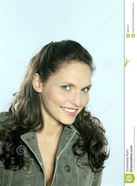 Royalty Free Stock Images Beautiful 25 Years Old Smiling