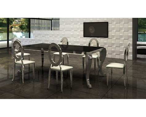 chaise bistrot blanche table chaise salle a manger table salle a manger ronde blanche maison boncolac