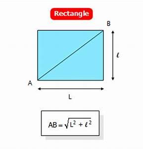 L Longueur Ou Largeur : comment trouver la longueur d une diagonale d un rectangle ~ Medecine-chirurgie-esthetiques.com Avis de Voitures