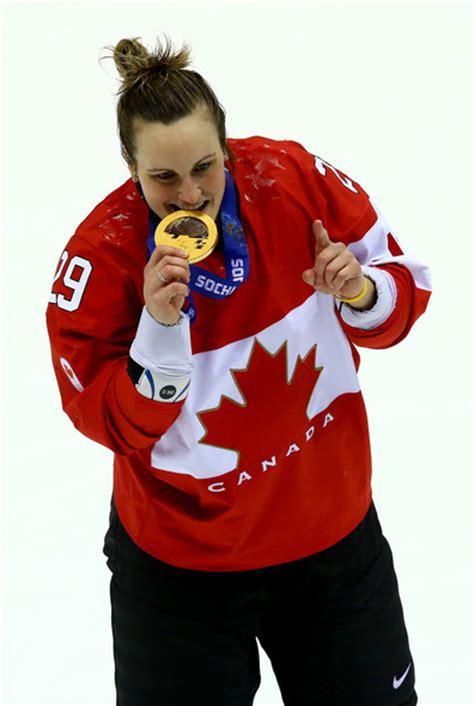marie philip poulin bites   winter olympics gold