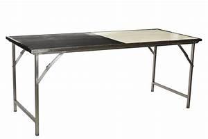 Table Pliante Metal : emoh mobilier industriel table a manger pliante bois et ~ Teatrodelosmanantiales.com Idées de Décoration