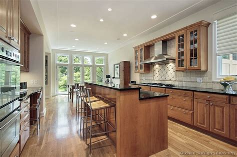 kitchen island bar height pictures of kitchens traditional light wood kitchen cabinets kitchen 151