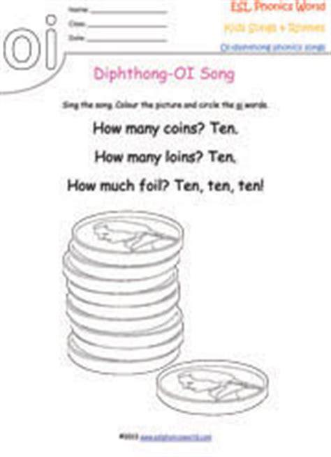 diphthong songs phonics songs kids phonics diphthongs