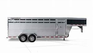 Gooseneck Livestock Trailers - 8117 Stock Trailer