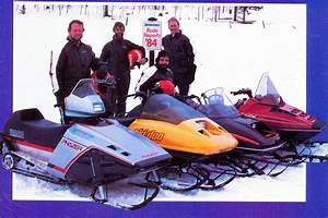 Classic Snowmobiles Of The Past  Testing Snowmobiles In