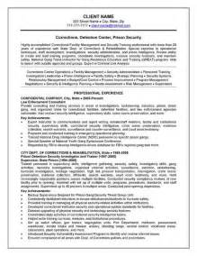 resume templates for experienced accountant job description corrections officer resume exle resume exles and resume