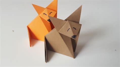 origami fuchs anleitung origami fuchs im gl 252 ck mein do it yourself portal
