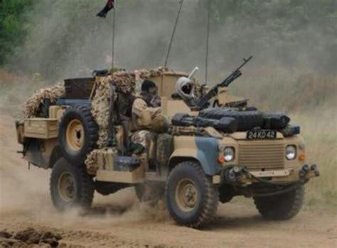 sas land rover 22 sas surveillance reconnaissance 110 land rover