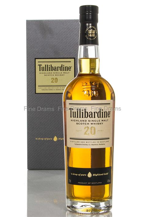tullibardine  year  scotch single malt whisky