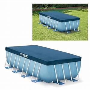 Bache Pour Piscine Rectangulaire : b che intex pour piscine rectangulaire intex 4 m x 2 m x 1 m ~ Dailycaller-alerts.com Idées de Décoration