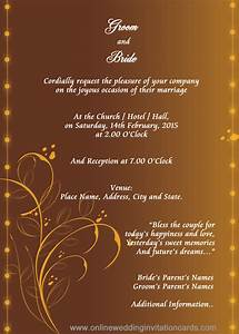 E wedding invitation card sunshinebizsolutionscom for E wedding invitation card wordings