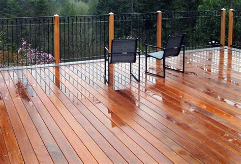 ipe deck tiles canada canadian decking options from ipe to aluminum eieihome