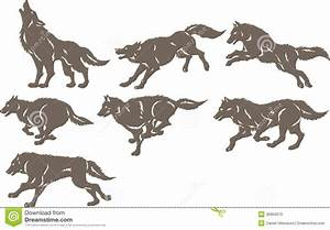 WOLF RUNNING SILHOUETTE - Ask.com Image Search | tattoos ...
