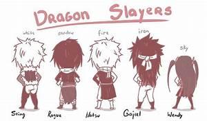 Sting, Rogue, Natsu, Gajeel, Wendy   Fairytail   Pinterest ...