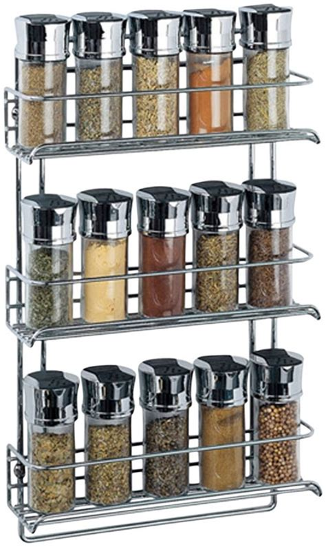 glass kitchen canister spice racks to decorate your kitchen