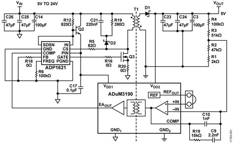 cn circuit note analog devices